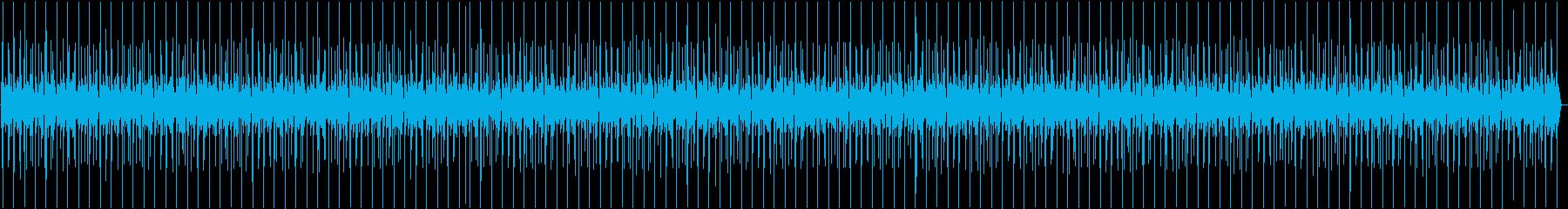 工場の環境音ですの再生済みの波形