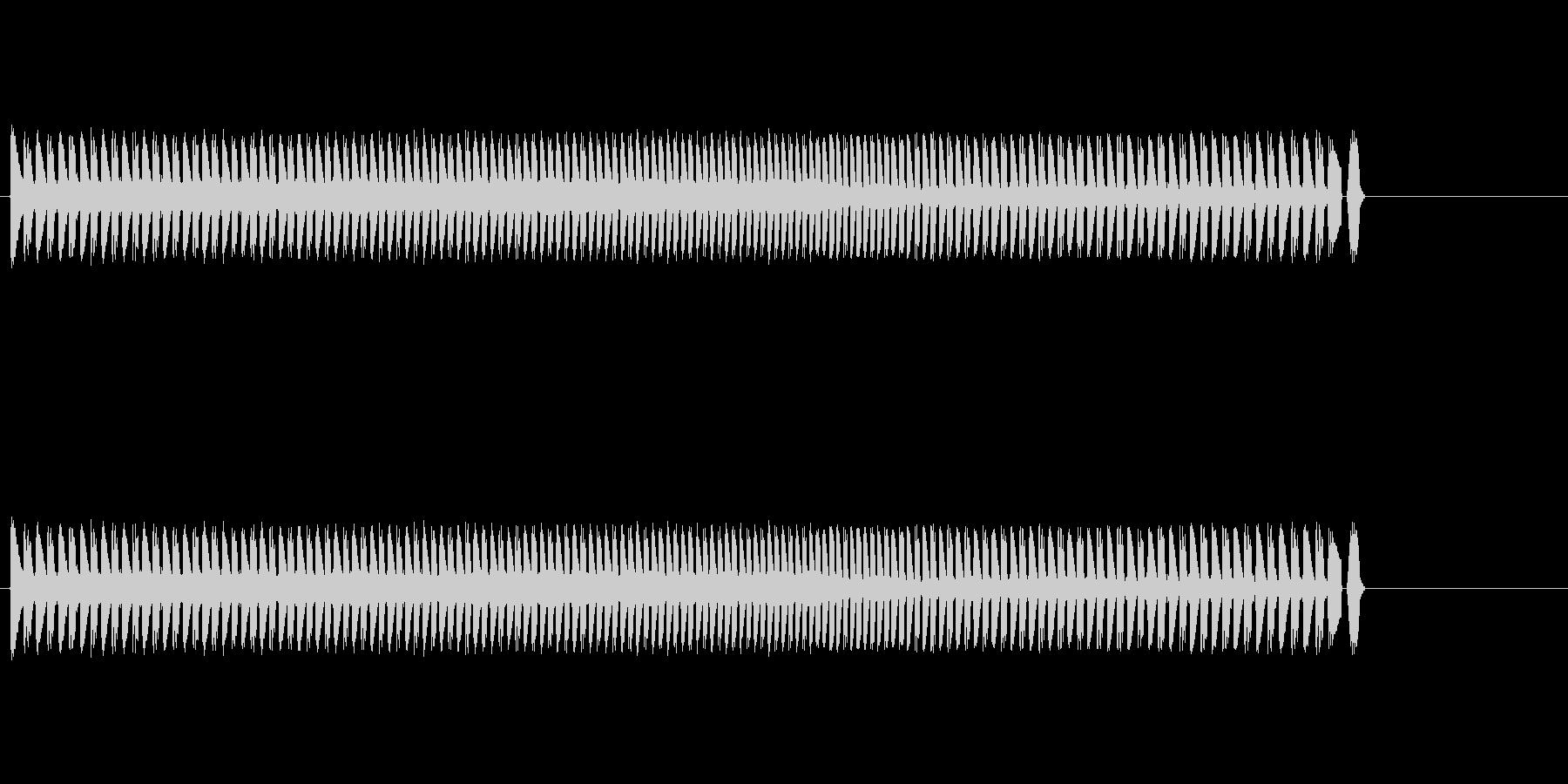 派手なゲーム系シンセ音の未再生の波形