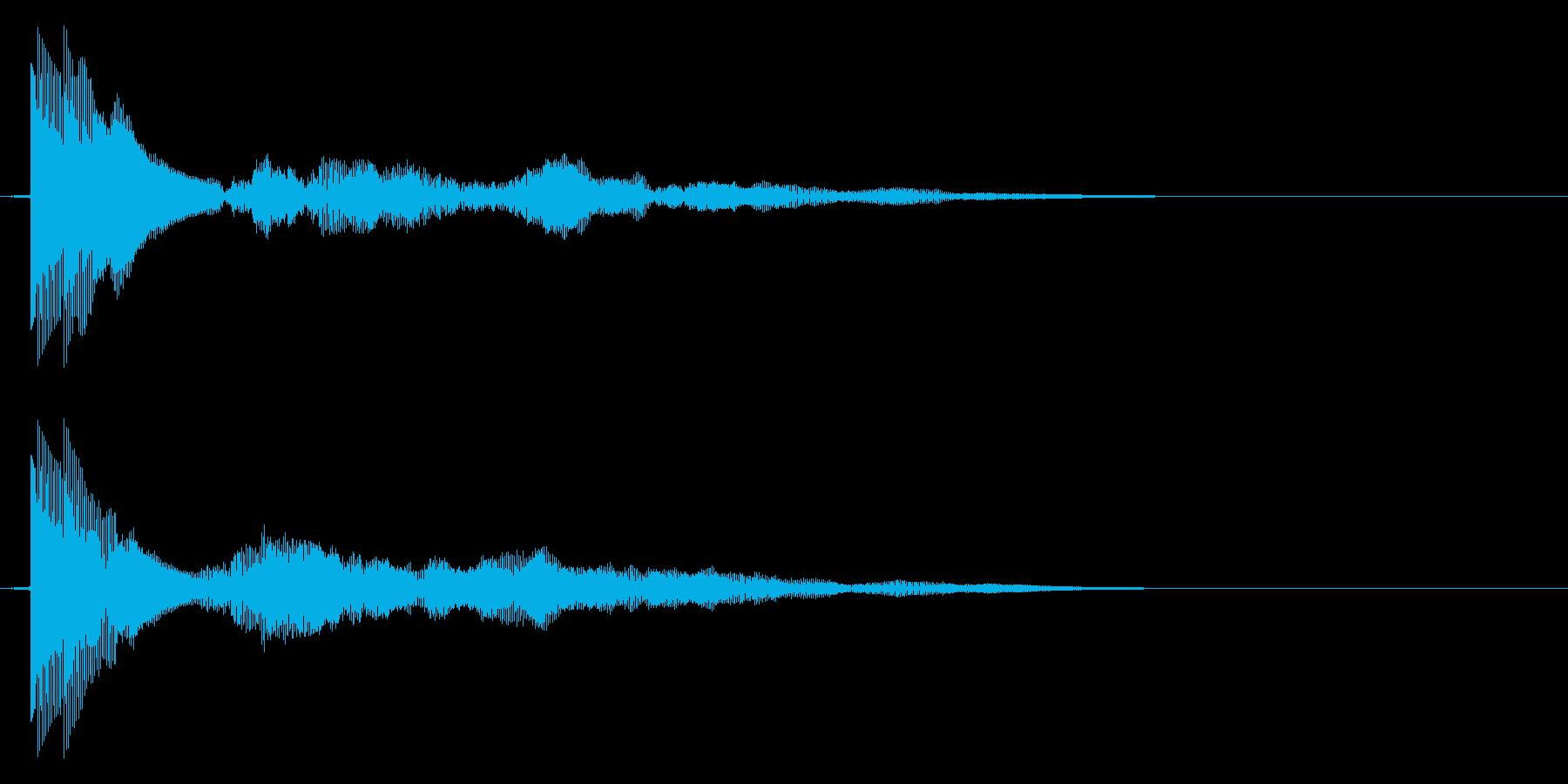 プィンーの再生済みの波形