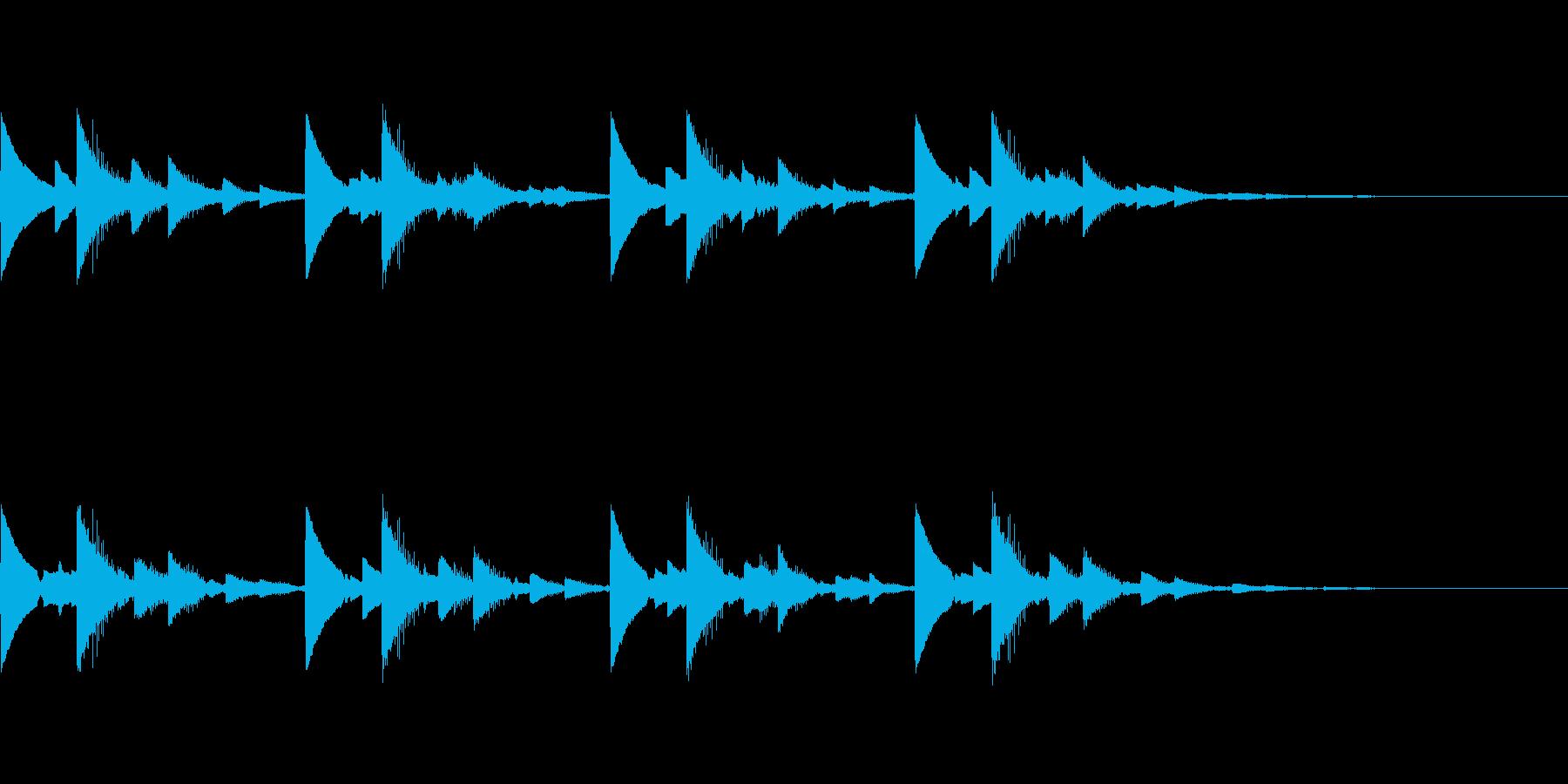 ピンチ危険告知アラームブザー音 ピコピコの再生済みの波形
