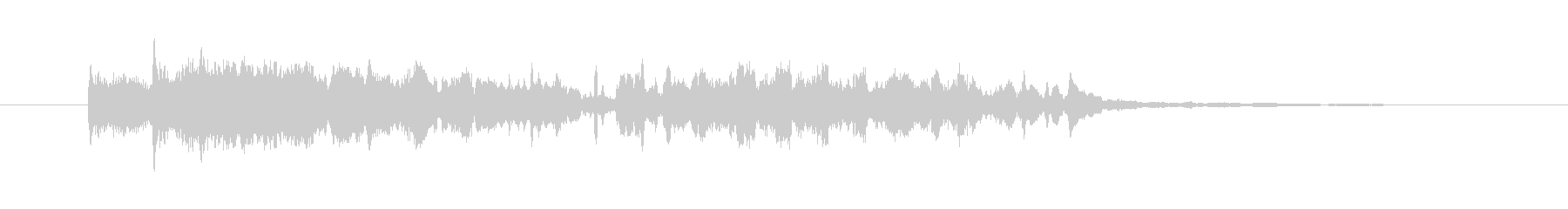 ワープ,タイムスリップの効果音,SEの未再生の波形