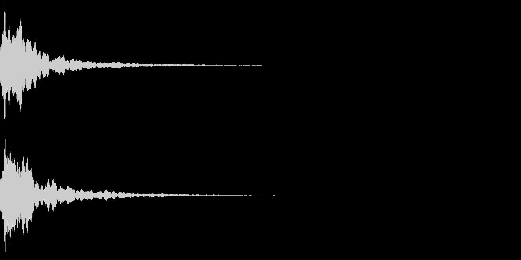 三味線の和風なインパクトジングル!08の未再生の波形