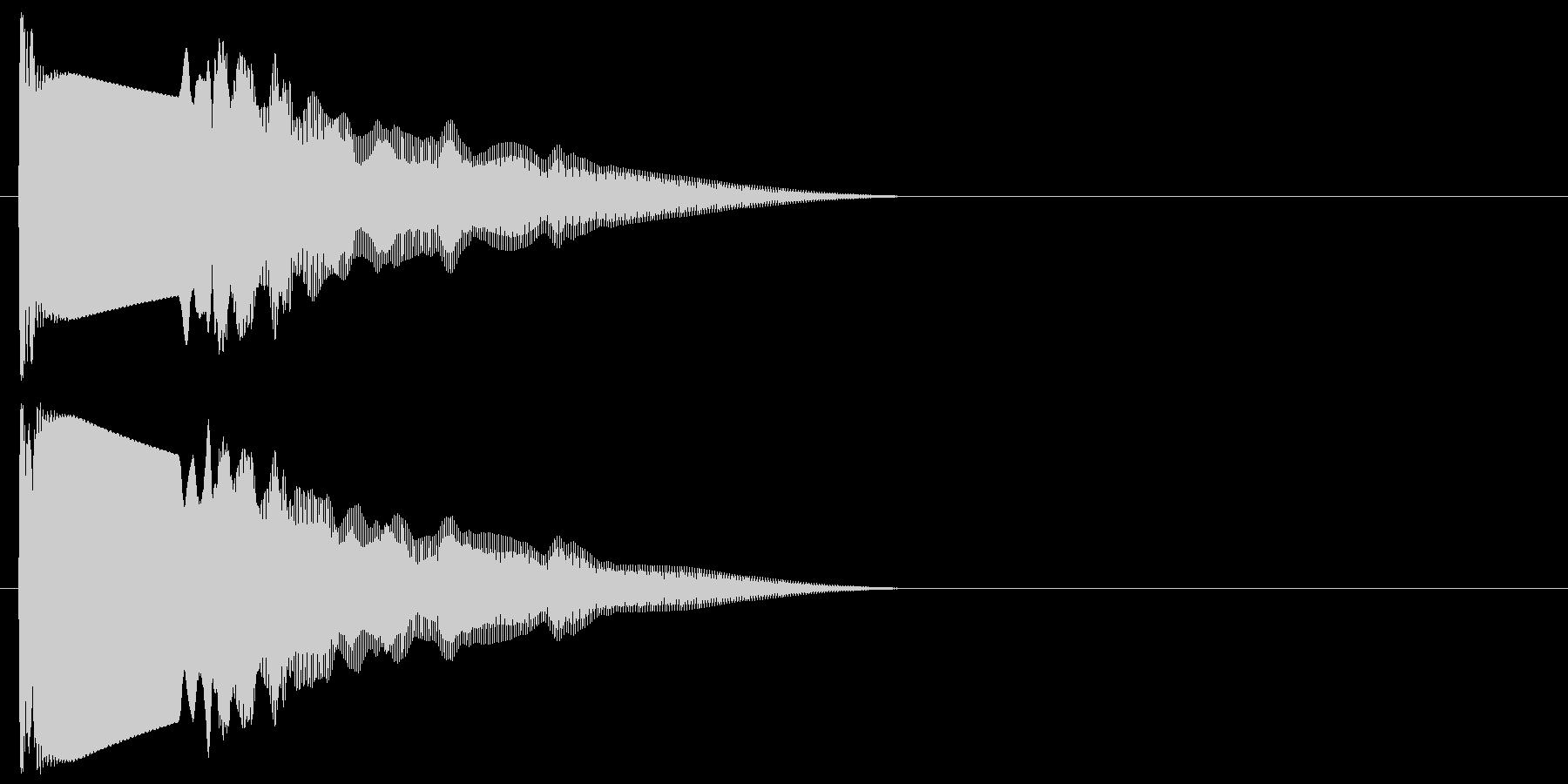 ピューン(シンセ音)落下シューティング系の未再生の波形