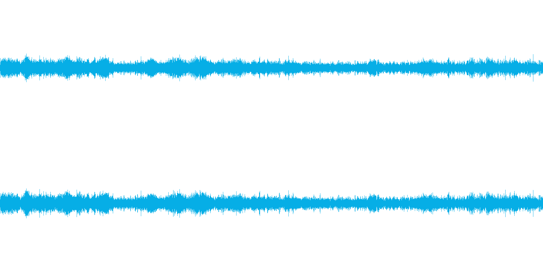 ザー・ざー・ぶおーんの再生済みの波形