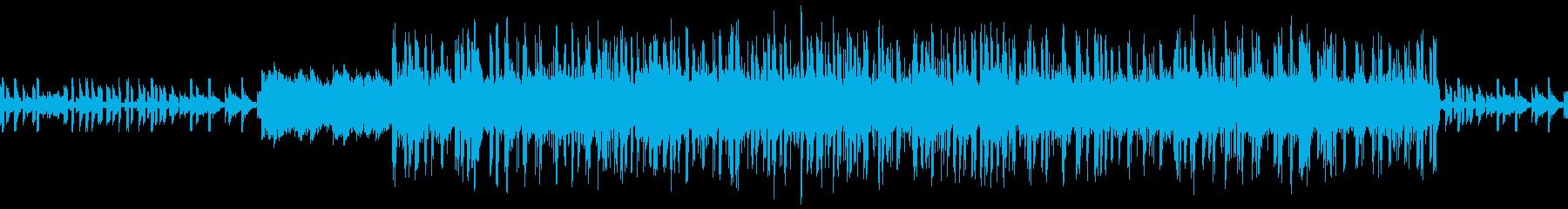 切ないエレクトロニカの再生済みの波形