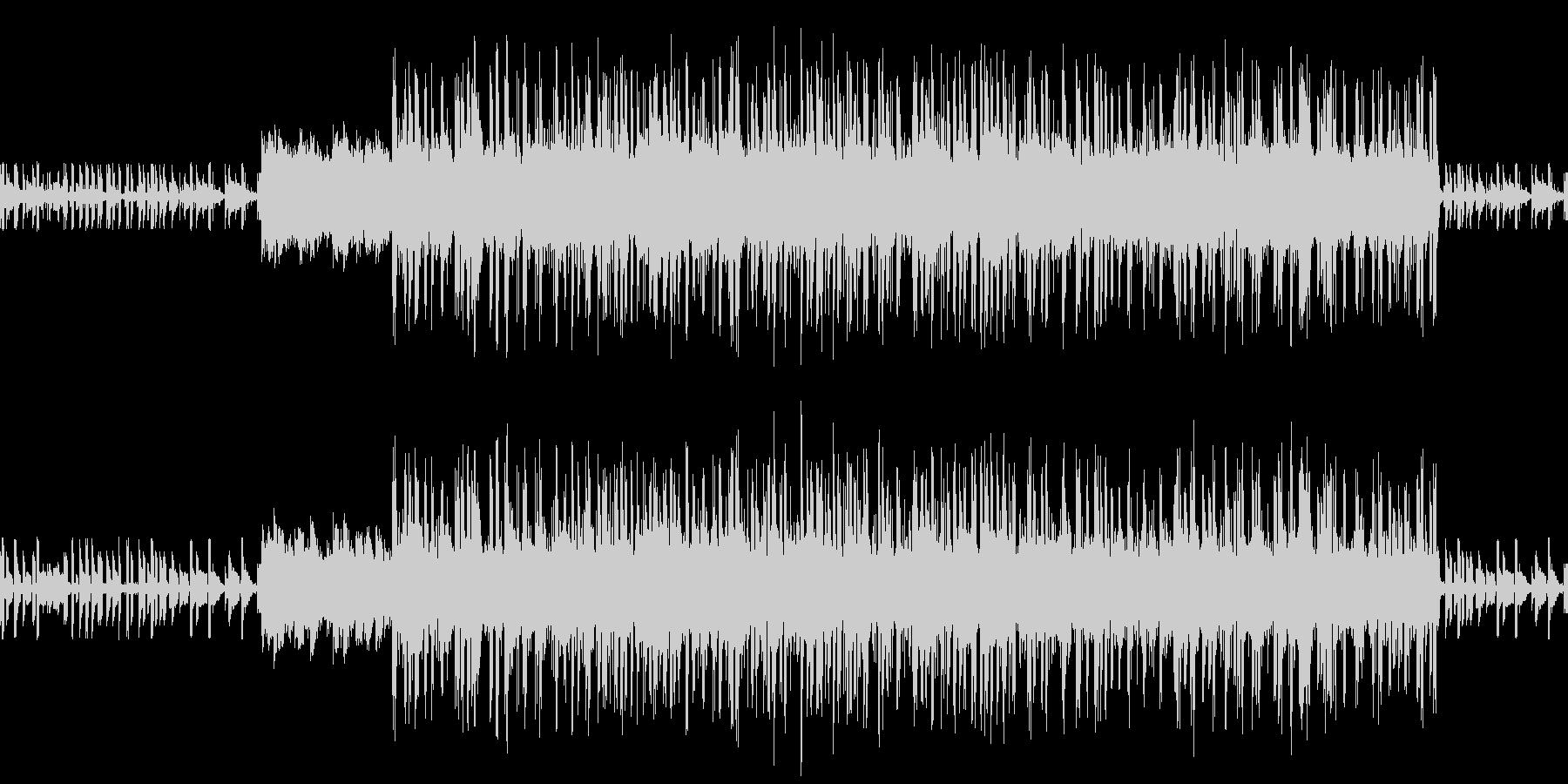 切ないエレクトロニカの未再生の波形