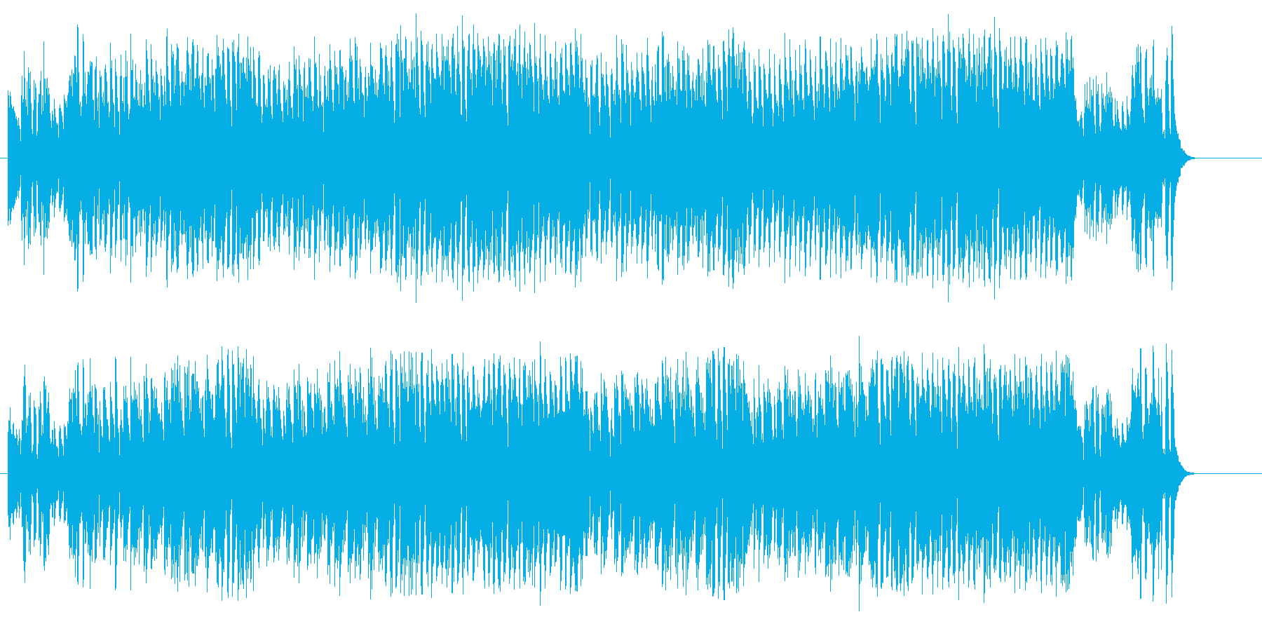 スイング黄金時代風ビッグ・バンド・ジャズの再生済みの波形