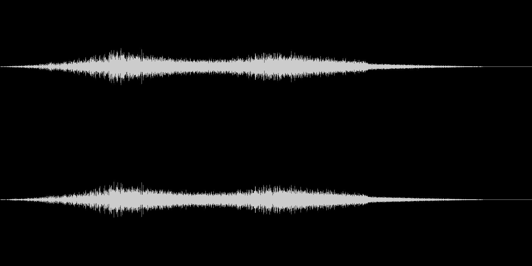 機械的な風の音(EDMなどにも効果的)の未再生の波形