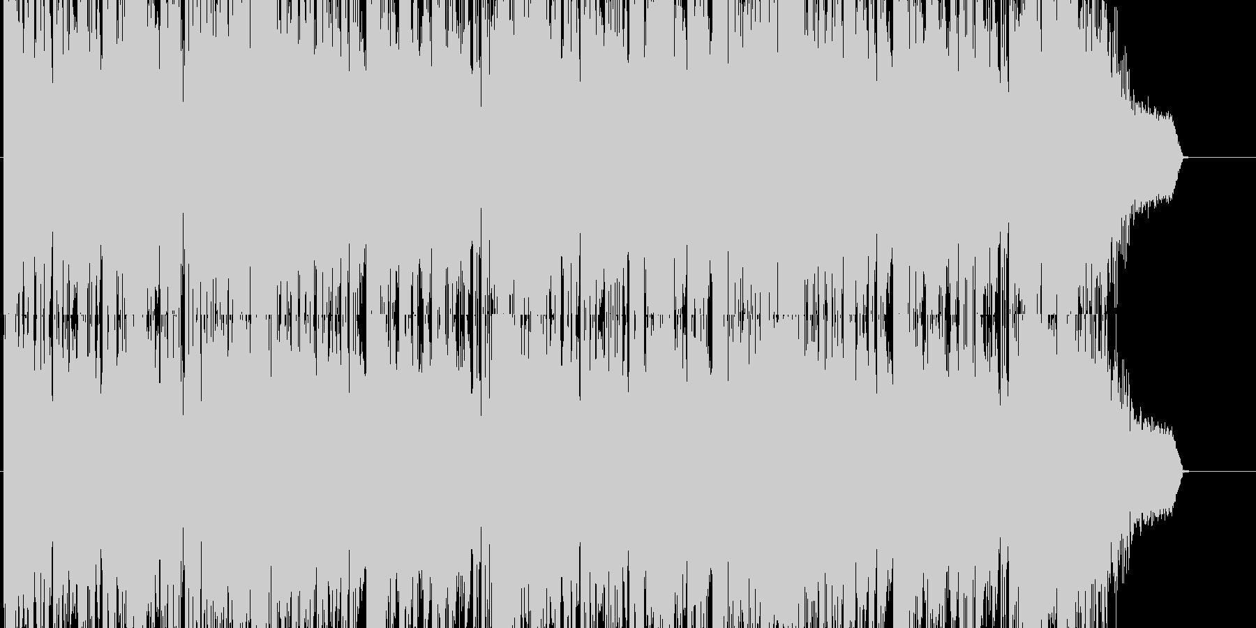 HIPHOP/DubStep系の重厚な曲の未再生の波形
