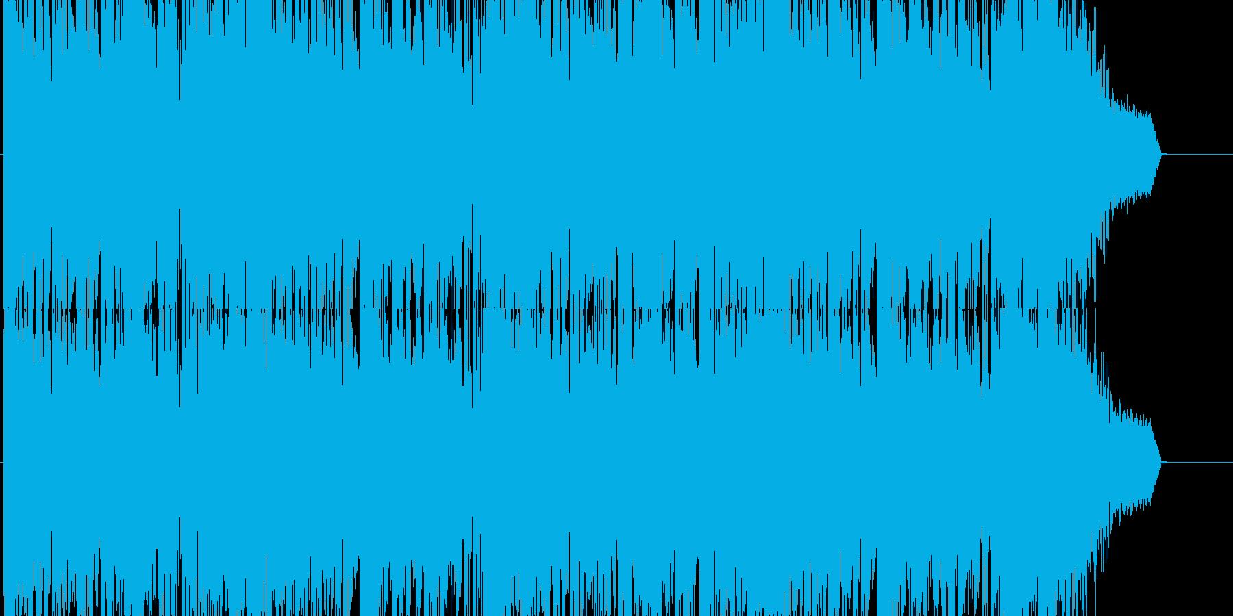 HIPHOP/DubStep系の重厚な曲の再生済みの波形