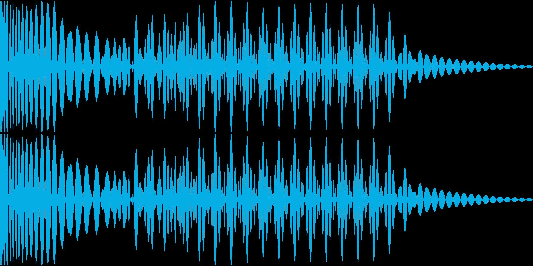 EDMキック キーG#の再生済みの波形