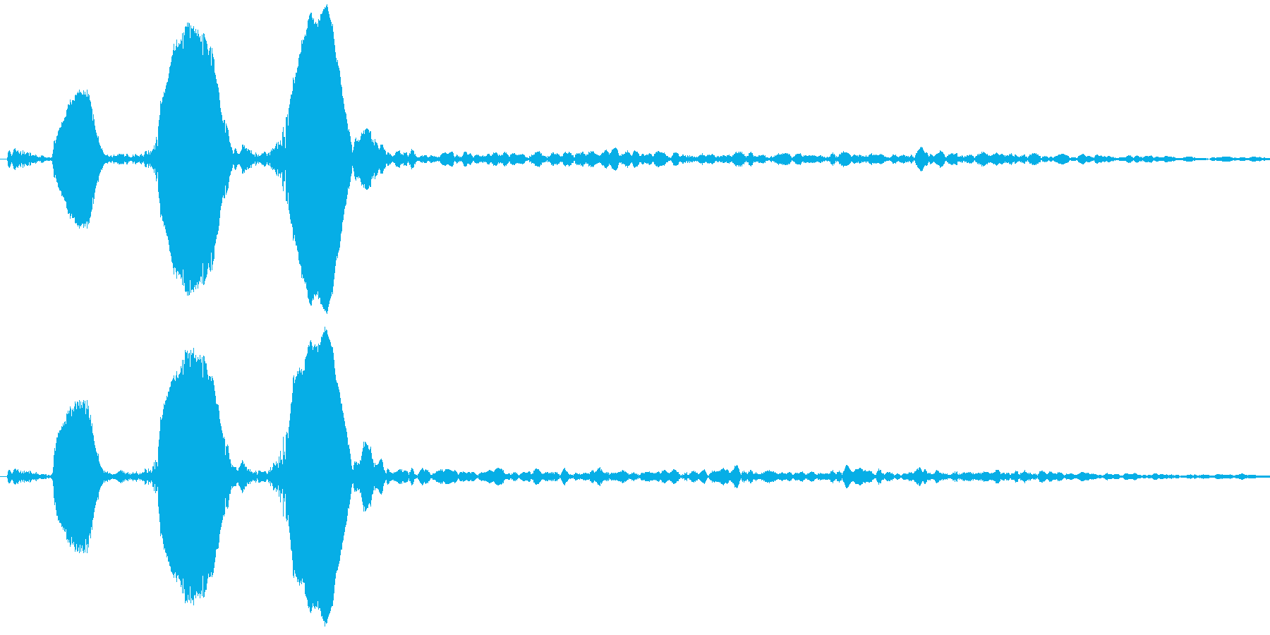 Animal 鳥の鳴き声 教育用途にの再生済みの波形
