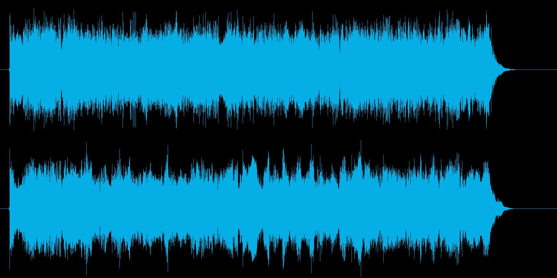 宇宙や近未来感の音(通信、マシーン)の再生済みの波形