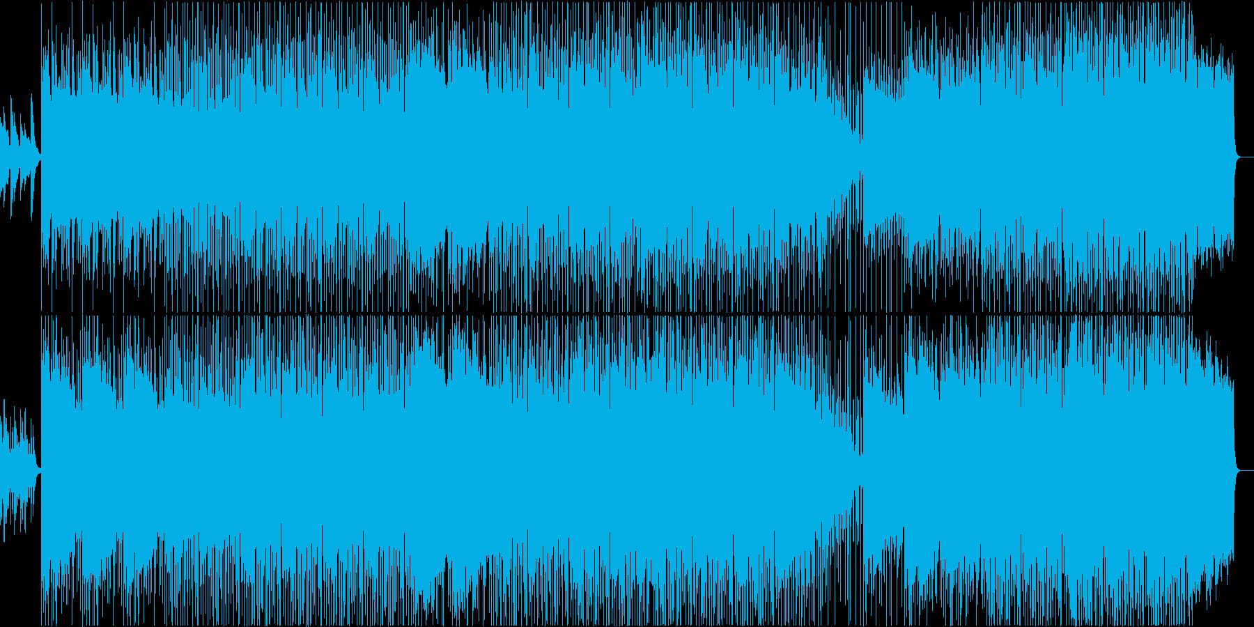 緊迫した空気の再生済みの波形