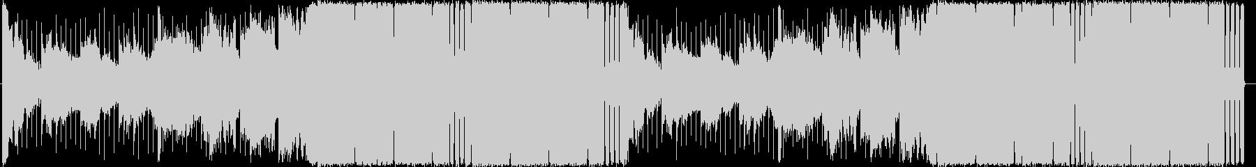 4つ打ちハウス/EDMのお洒落な曲ロングの未再生の波形