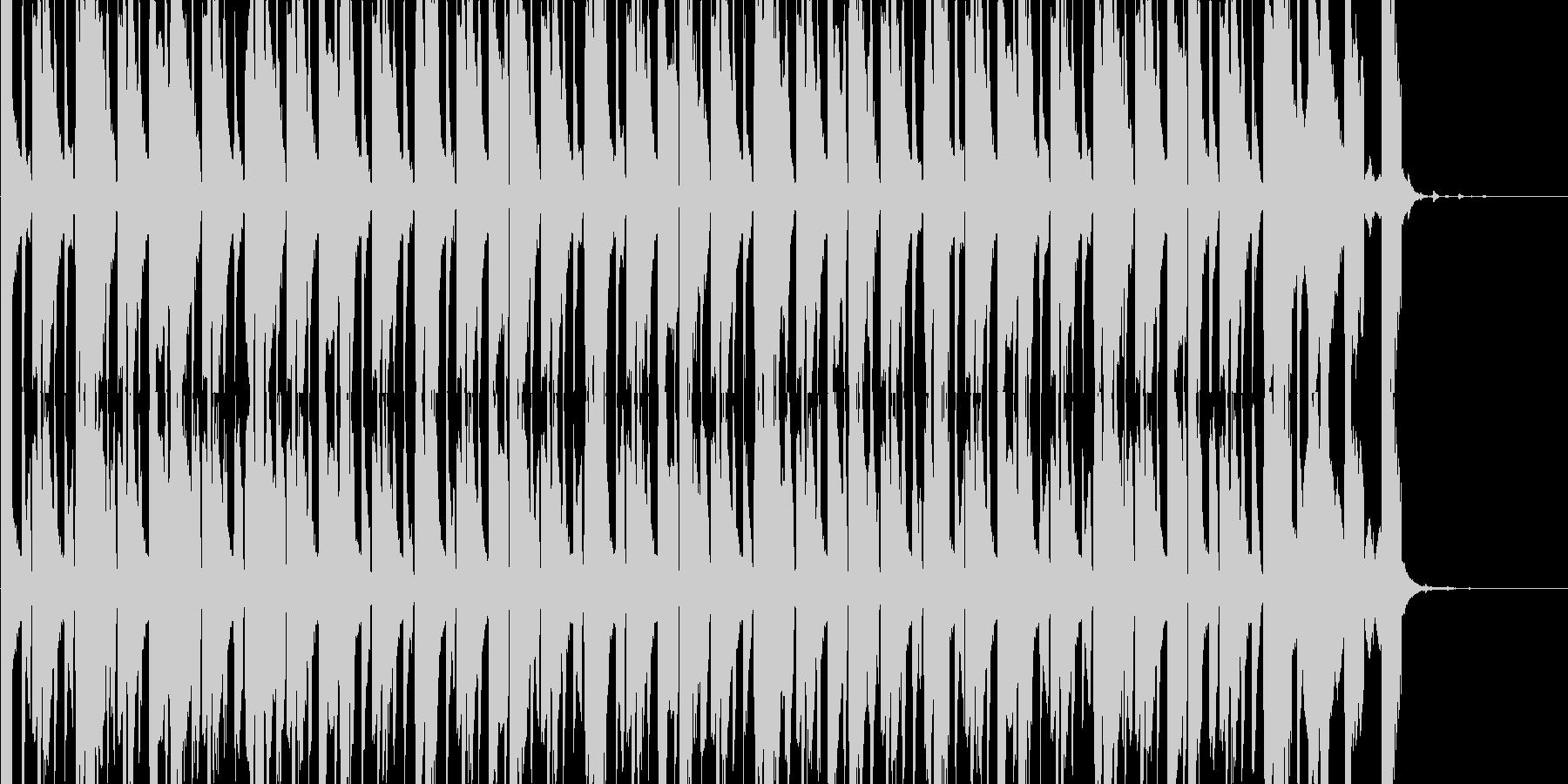 おっちょこちょい、間抜けをイメージした…の未再生の波形