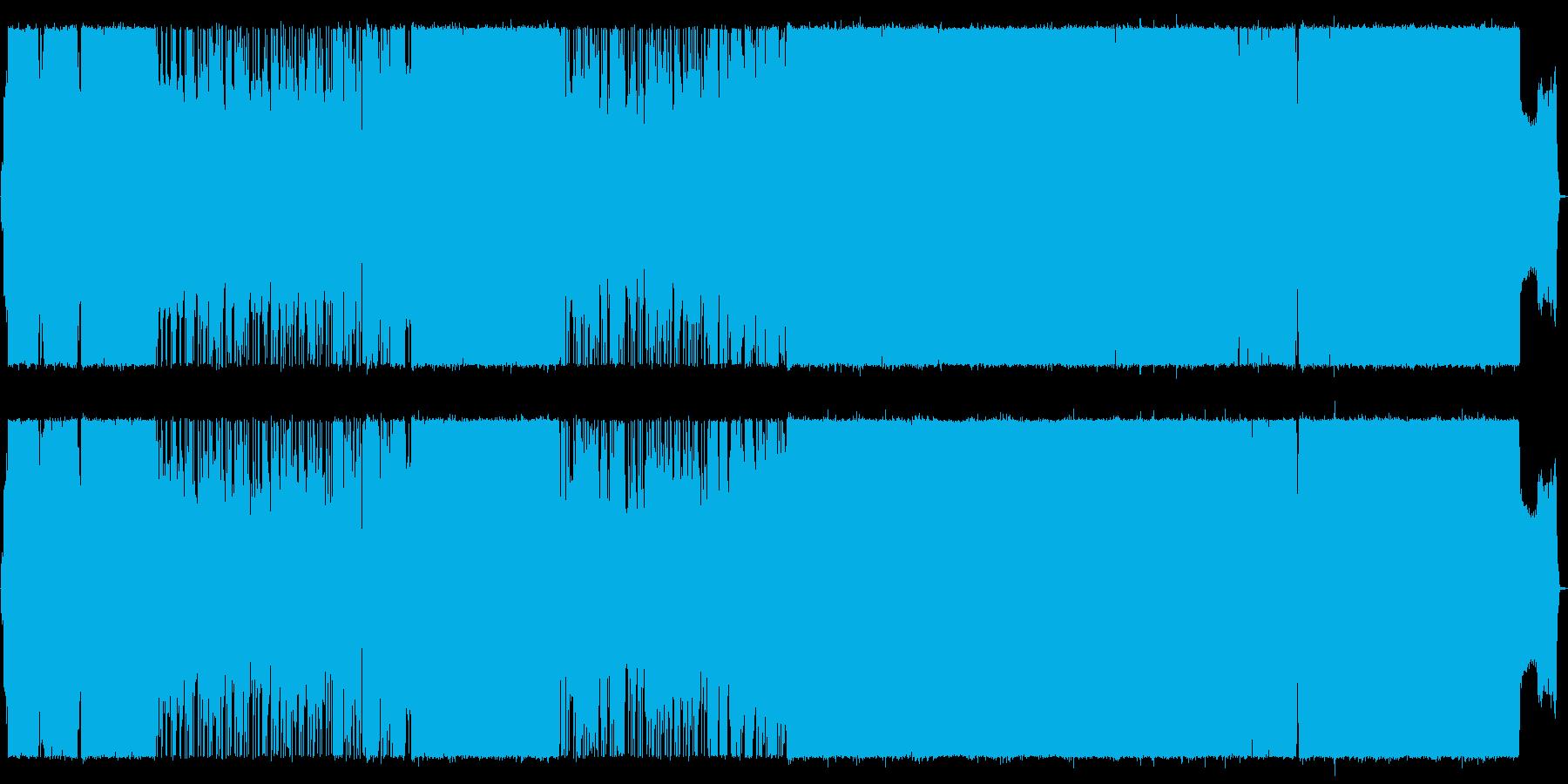 絶望的な状況を打破するガールズロックの再生済みの波形