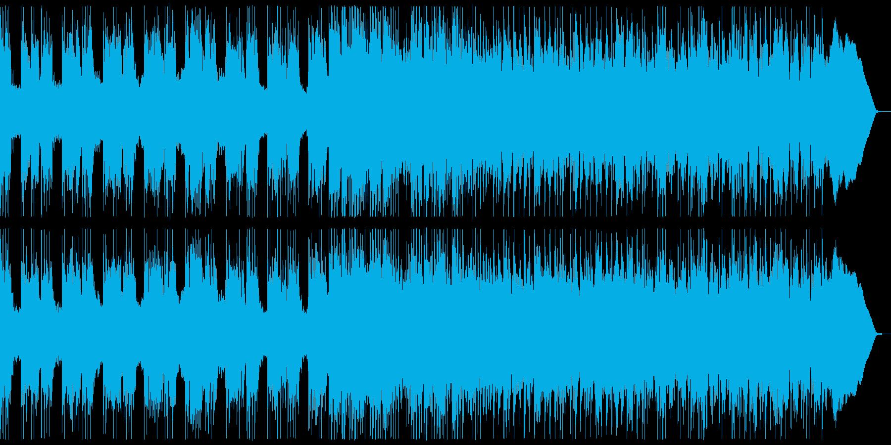 重厚ダークなメタル 重さや緊張感のある曲の再生済みの波形