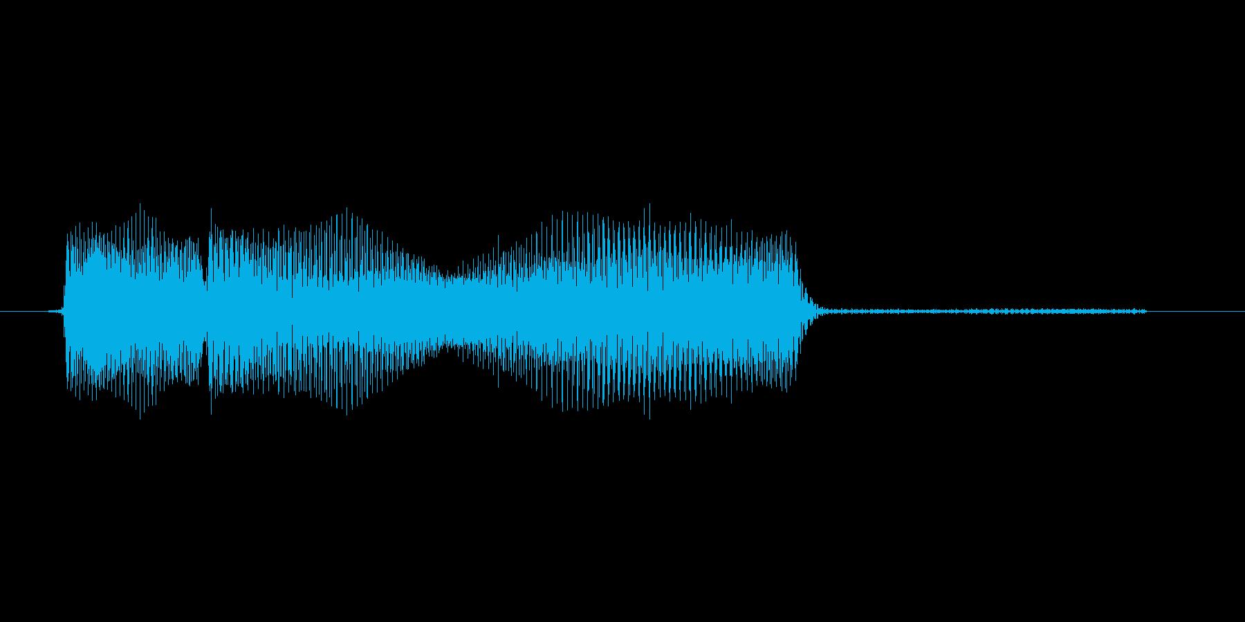 ゲーム、クイズ(ピンポン音)_012の再生済みの波形
