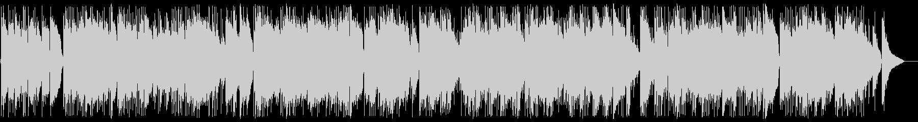 ギターデュオのリゾート系ヒーリングの未再生の波形