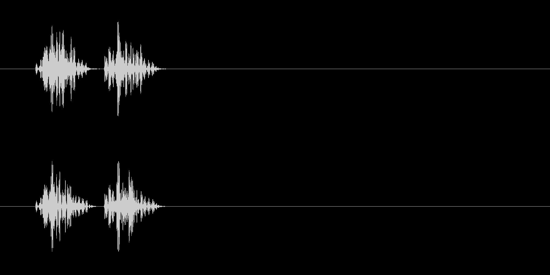 心臓の音 の未再生の波形