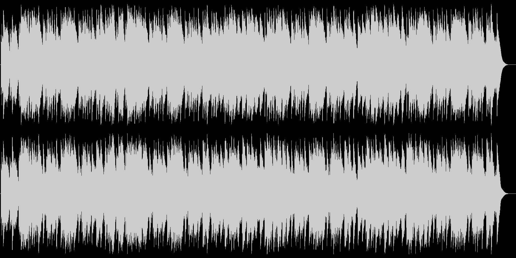 結婚行進曲(メンデルスゾーン)の未再生の波形