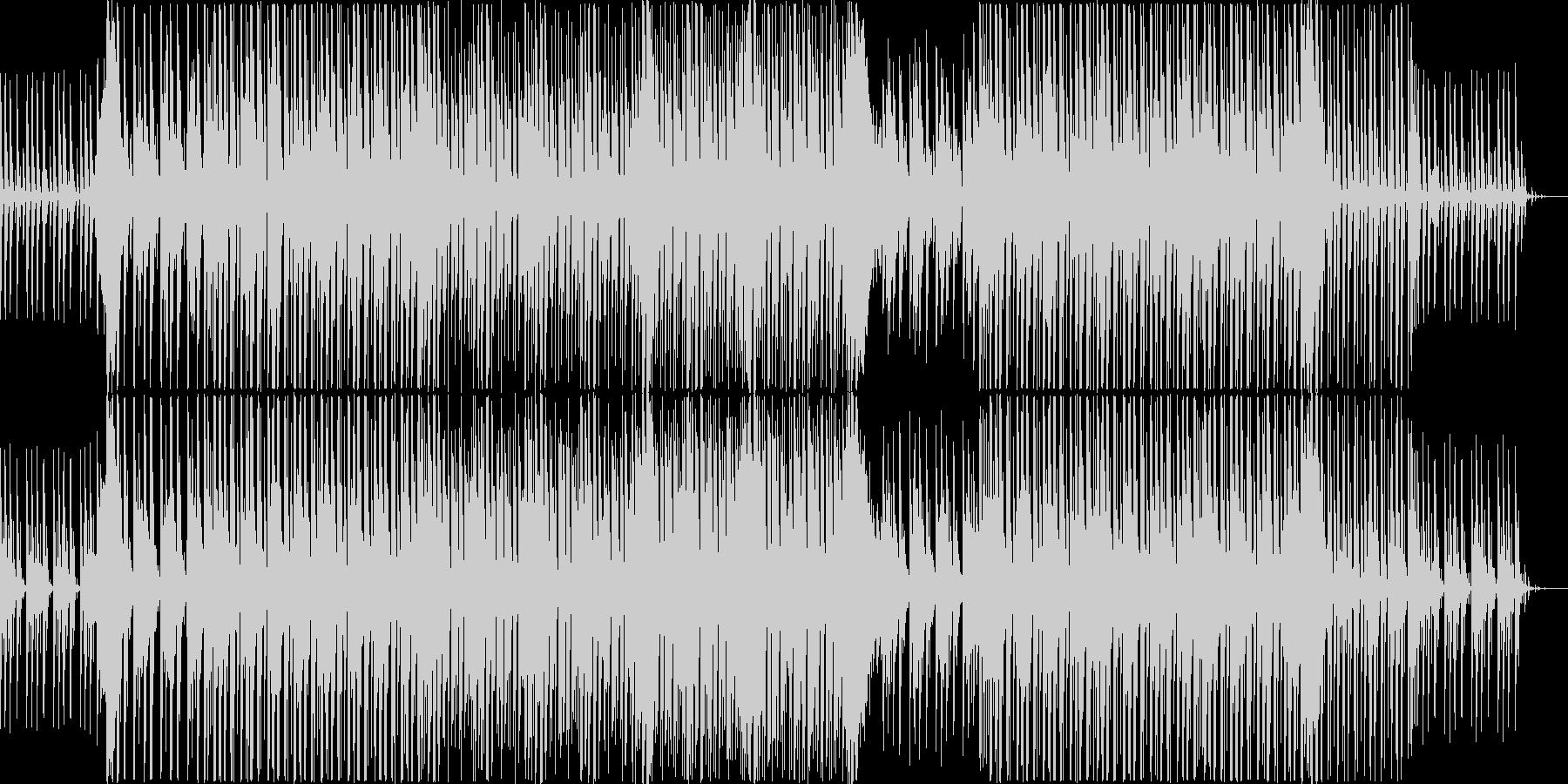 ドラマチックなシンセポップの未再生の波形