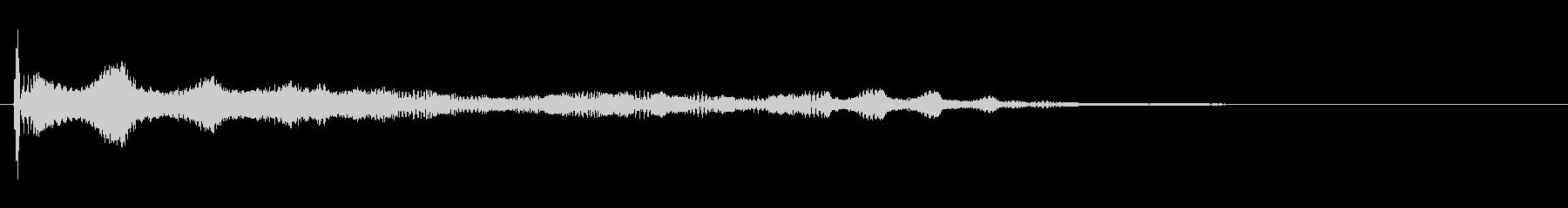 効果音、ボヨヨーン(ロング)、おっぱい…の未再生の波形