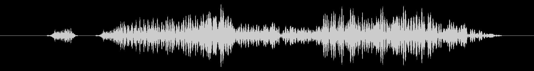 可愛いキャンセル/戻る/選択不可の効果音の未再生の波形