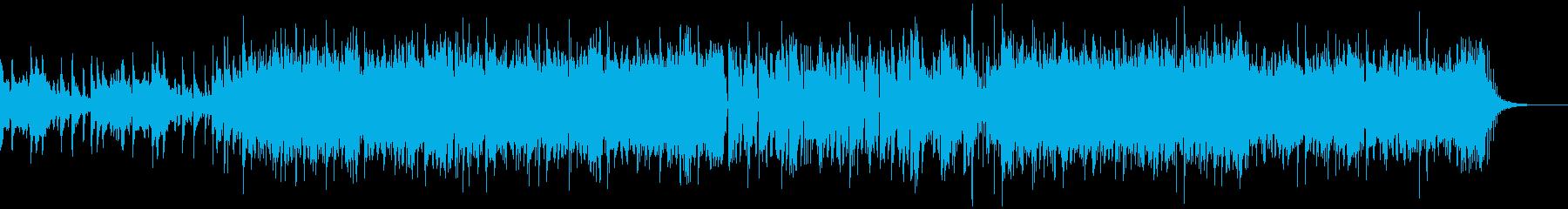 スタイリッシュな和風エレクトロニックの再生済みの波形