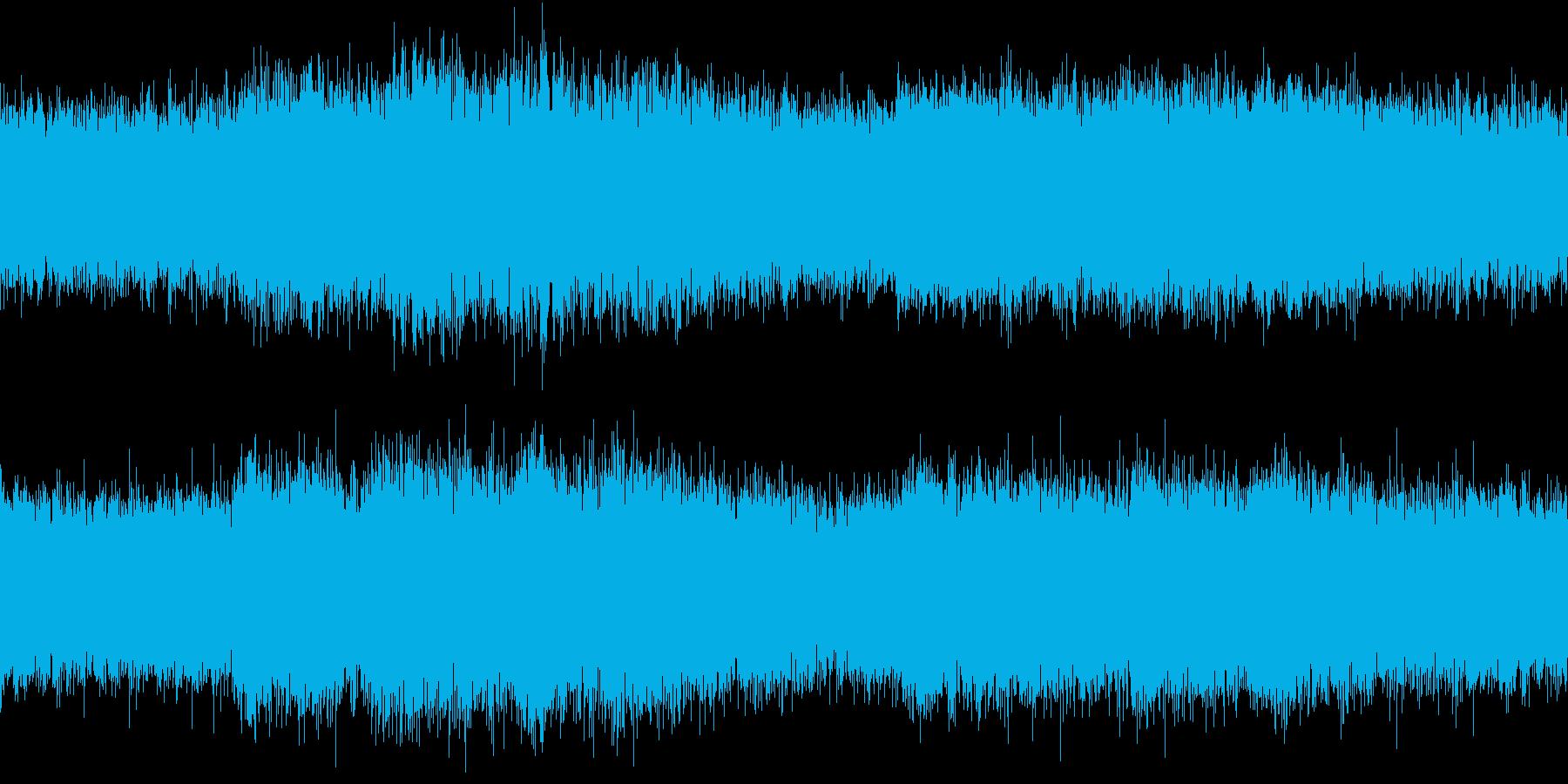 狂気の世界を目の当たりにした系のBGMの再生済みの波形