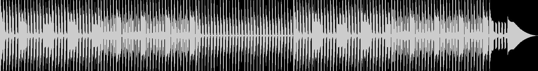 リコーダーとベルのほのぼのとした曲の未再生の波形