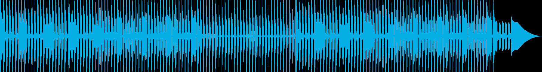 リコーダーとベルのほのぼのとした曲の再生済みの波形
