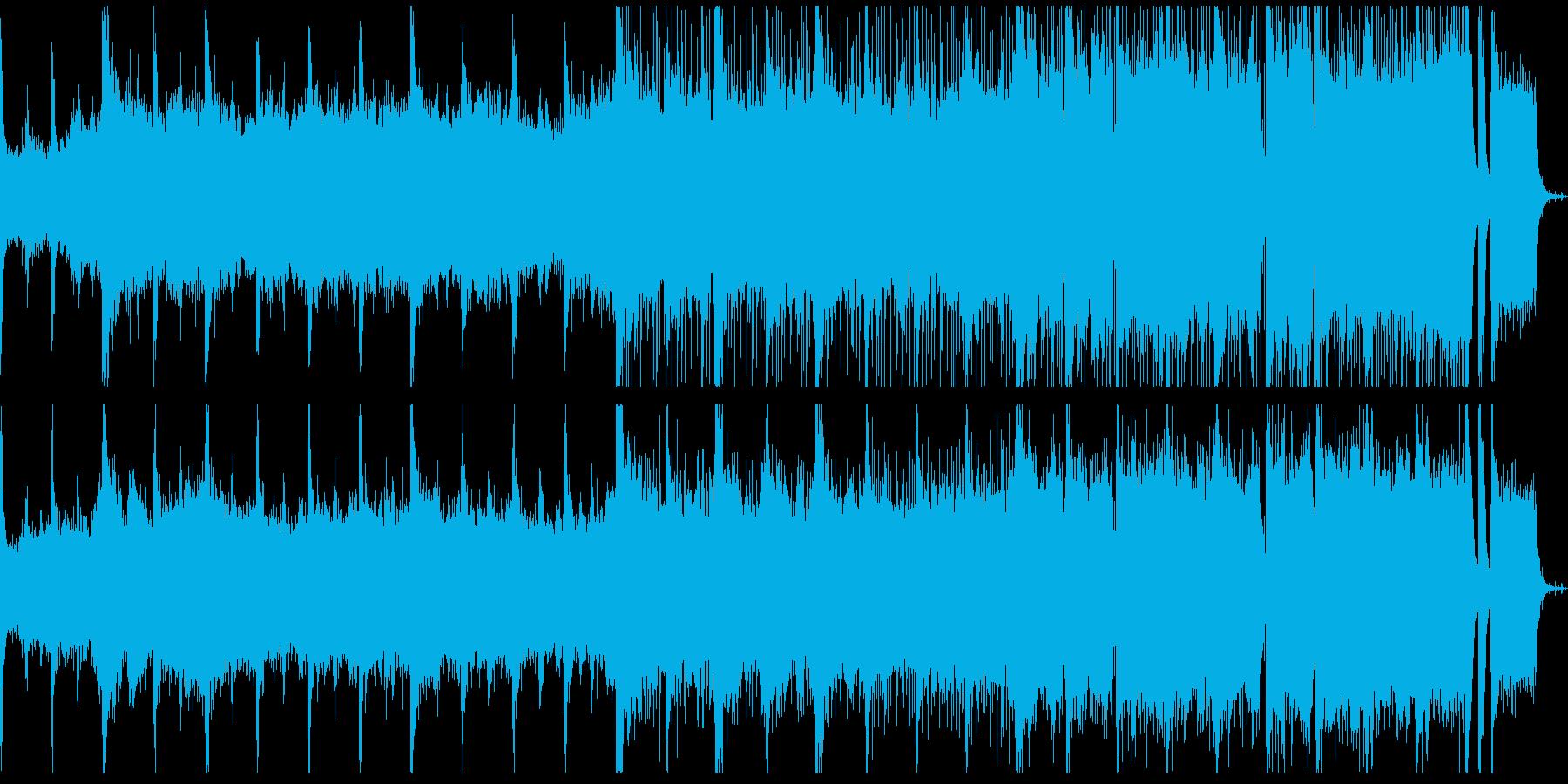 ダークホラー 邪悪で荘厳なレクイエムの再生済みの波形