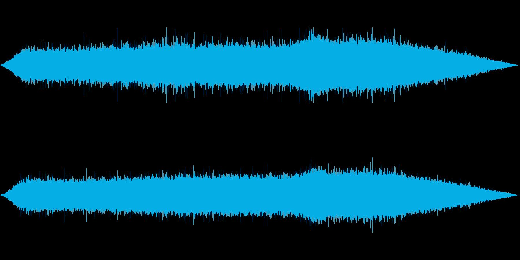 雨 雨音(夕立ち、豪雨、にわかあめ等)1の再生済みの波形