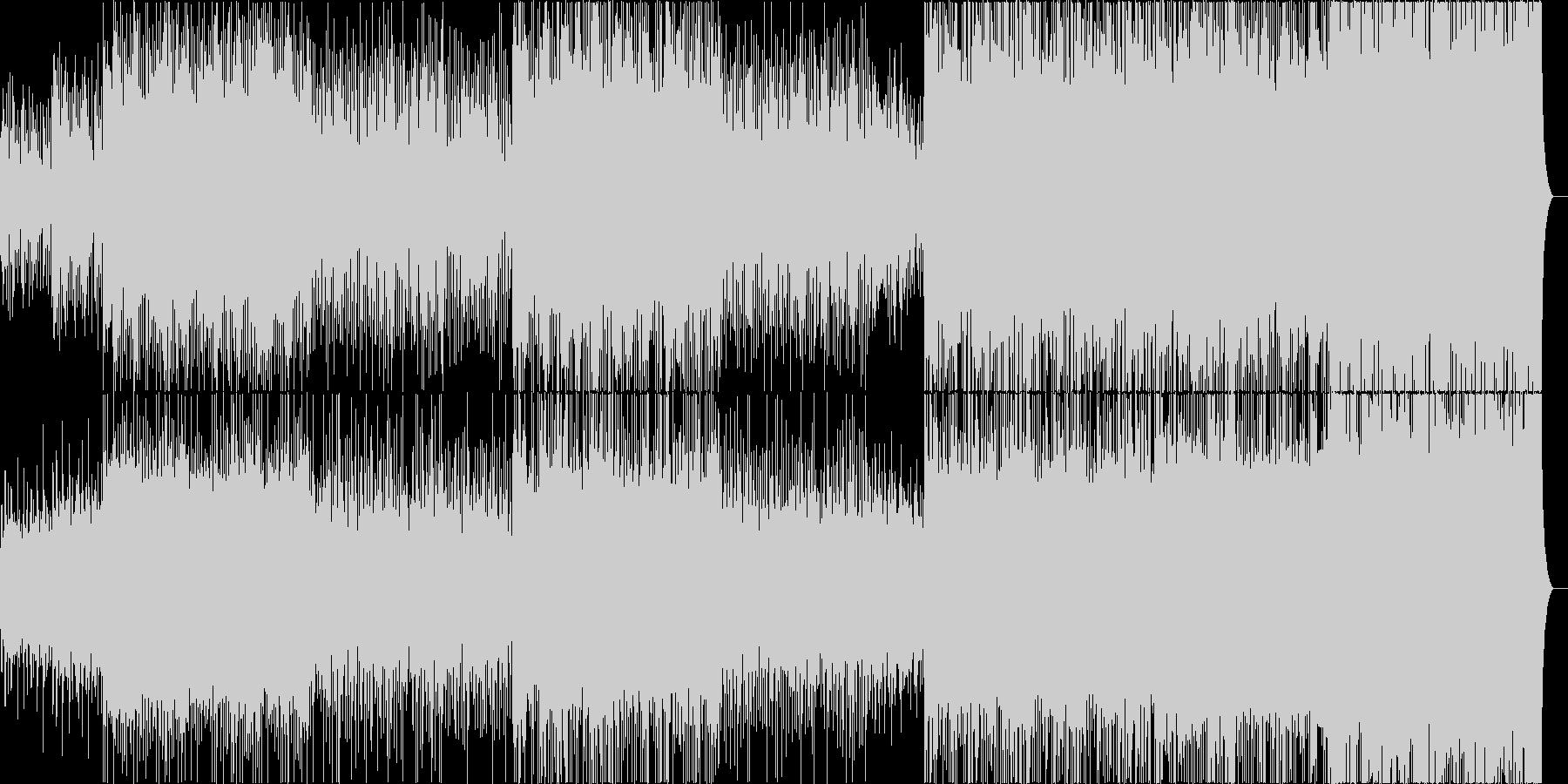 決意表明の未再生の波形