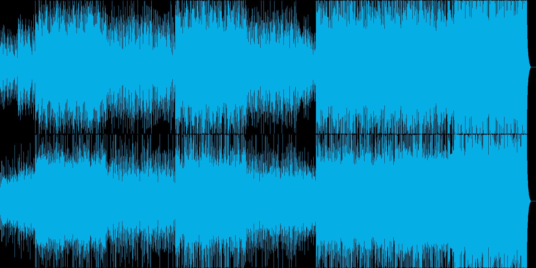 決意表明の再生済みの波形
