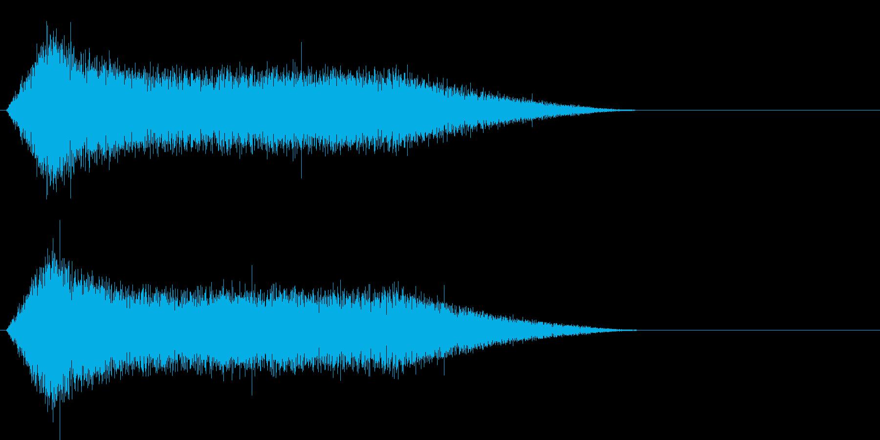 ザザザザー (水の魔法)の再生済みの波形