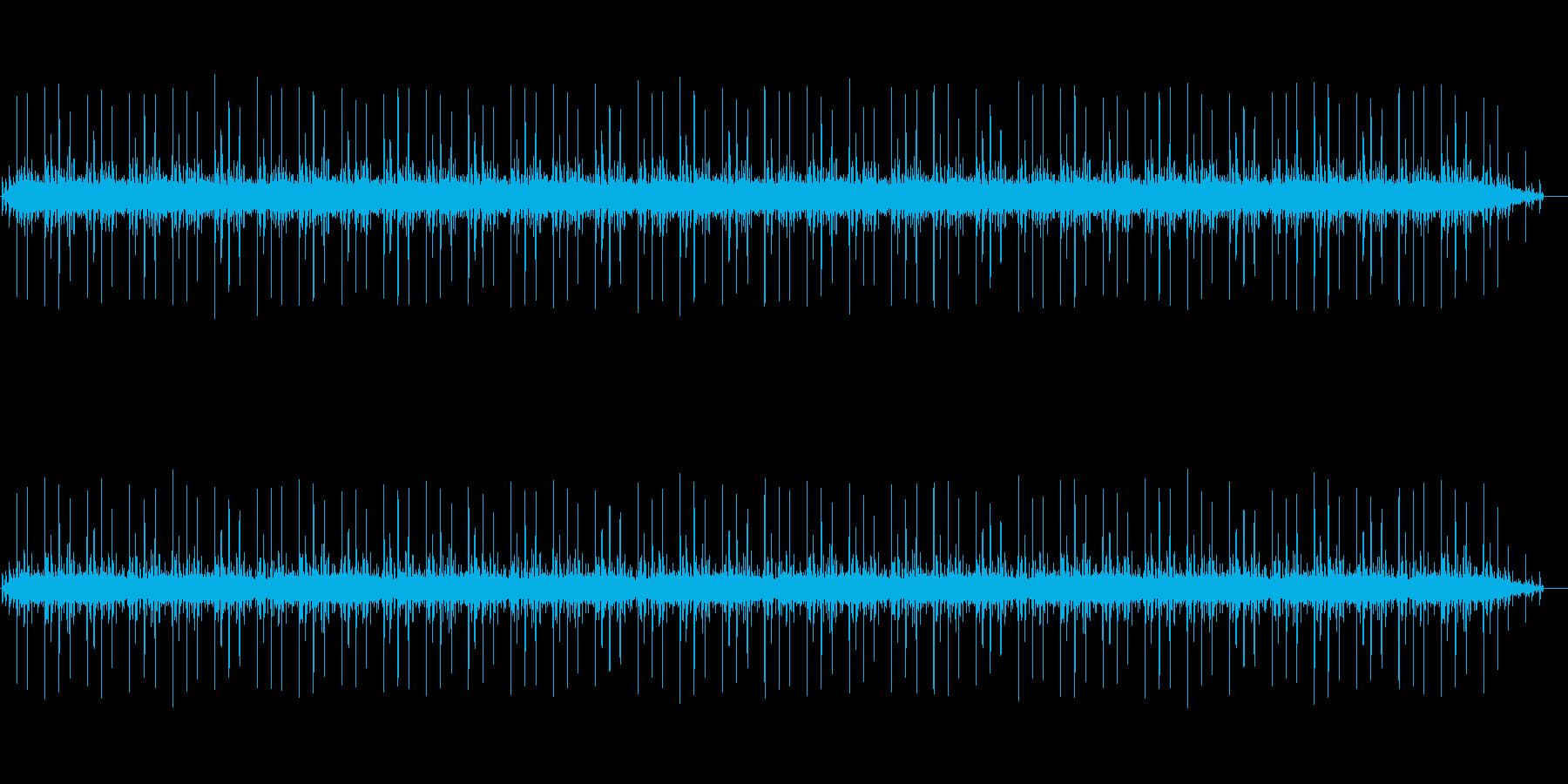 バネを作る機械の動作音02の再生済みの波形