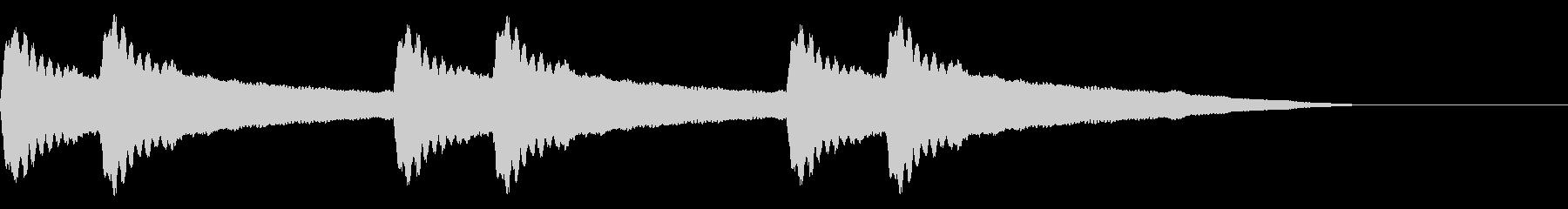 チリーンチリーン☆洋風学校のチャイム音の未再生の波形