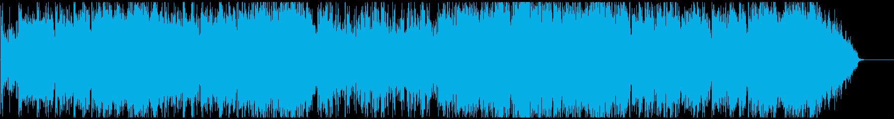 爽やか疾走感アコースティック Sax生録の再生済みの波形