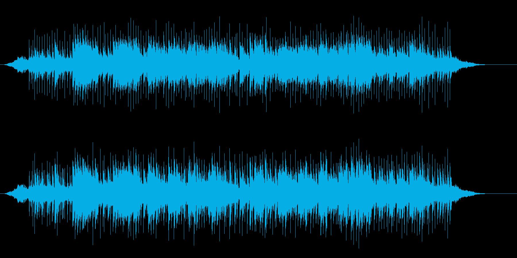 ネオ・ワールド・ミュージック(インド風)の再生済みの波形