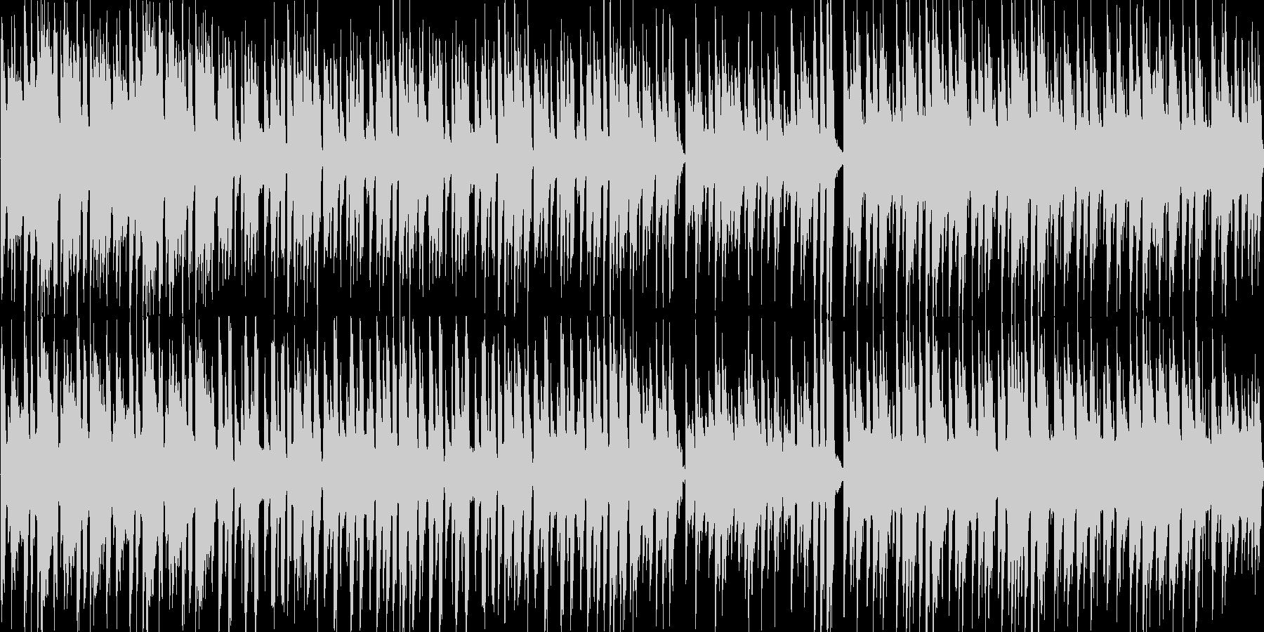企業PV的ボサノバ風ループ音源の未再生の波形