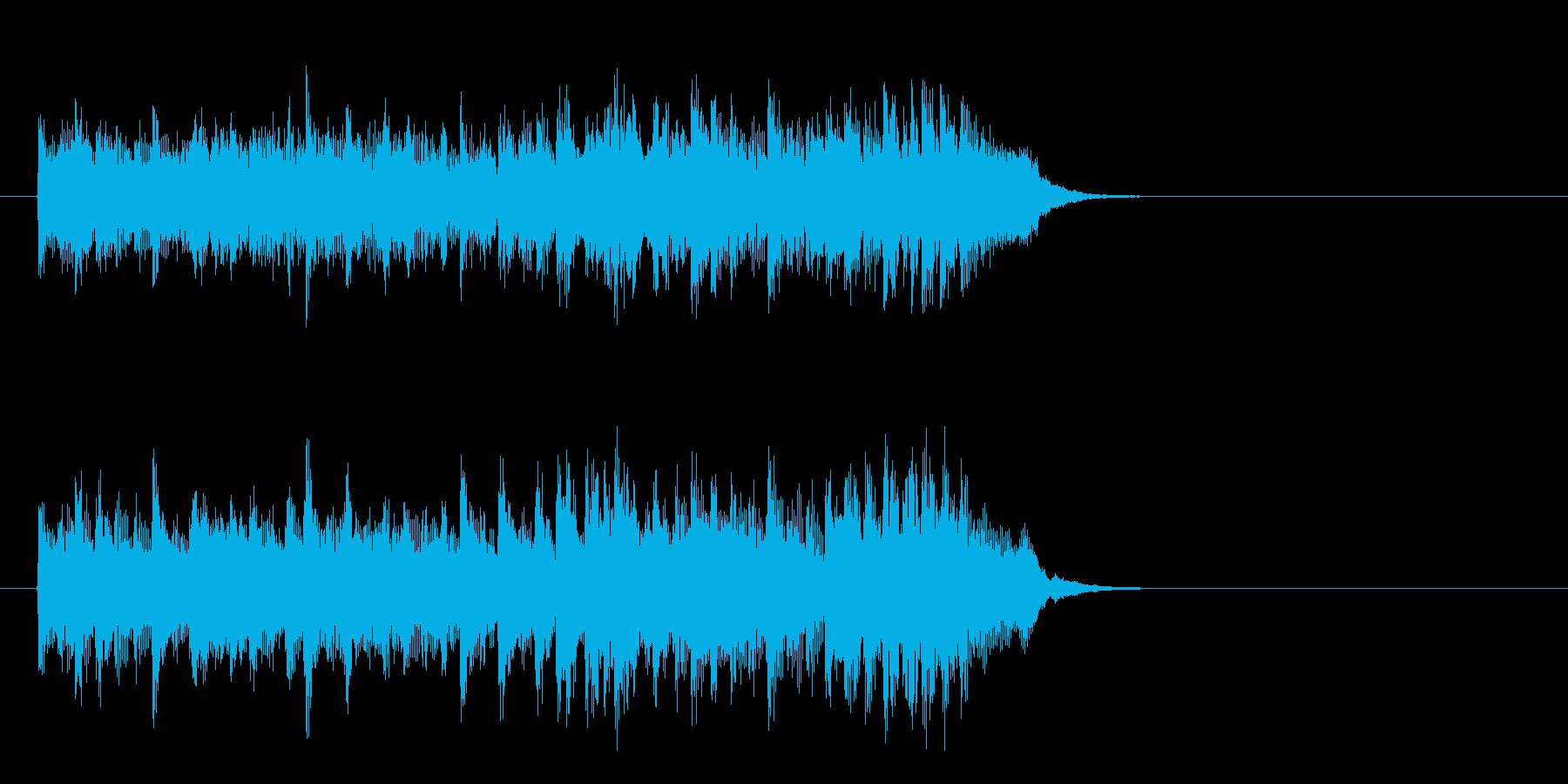 爽やかな歌謡曲風ポップス(イントロ)の再生済みの波形
