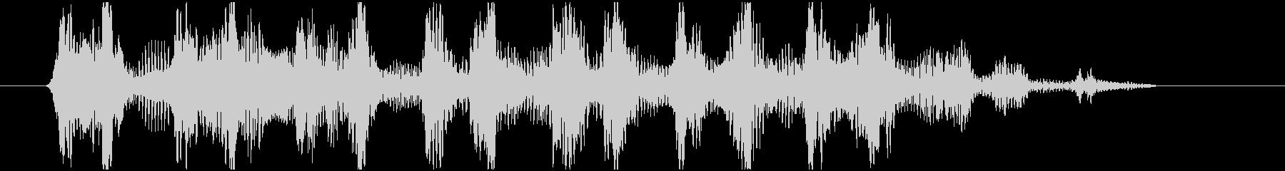ワゥワゥワゥ 効果音シンセ HIGHの未再生の波形