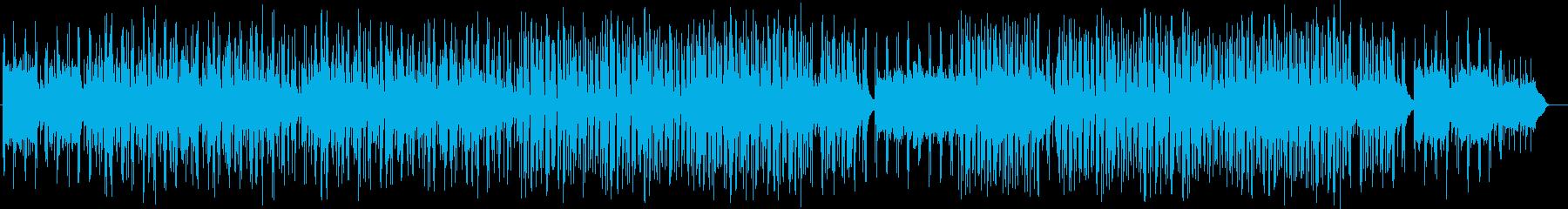 天気予報のBGMに出てきそうな曲です。の再生済みの波形