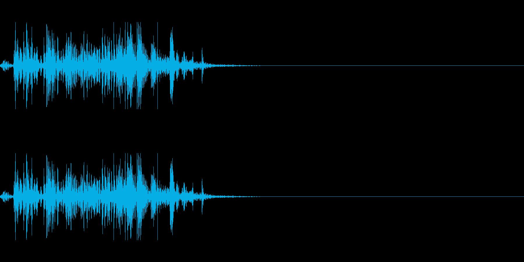 弾む音 2の再生済みの波形