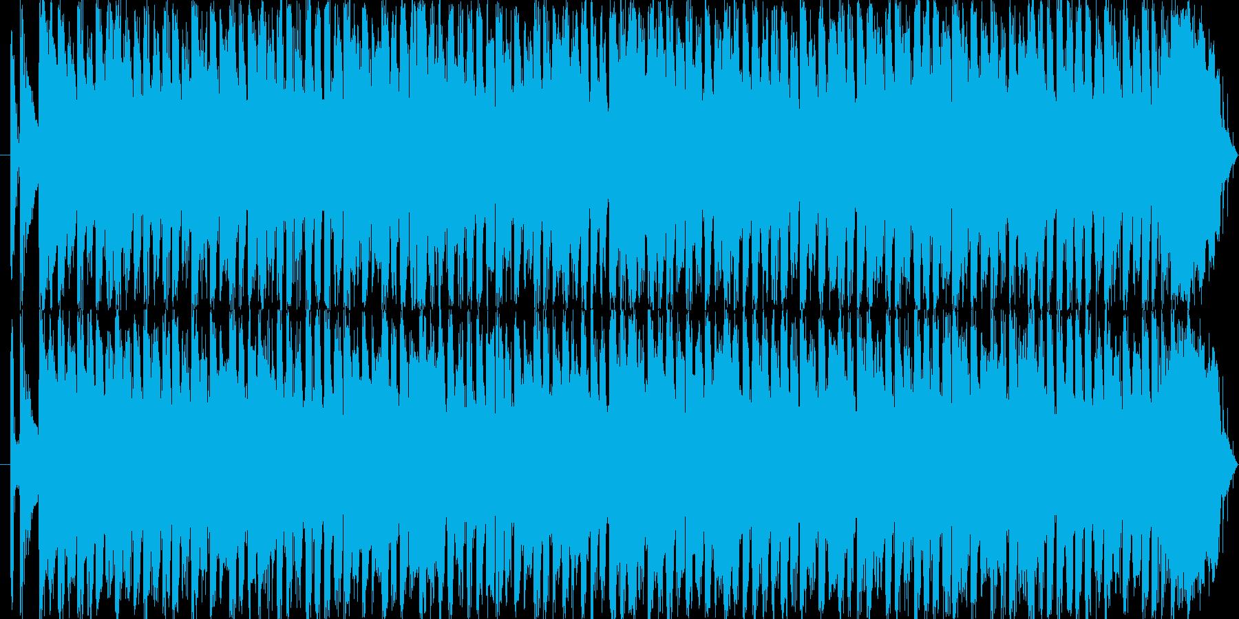 Pop band soundの再生済みの波形