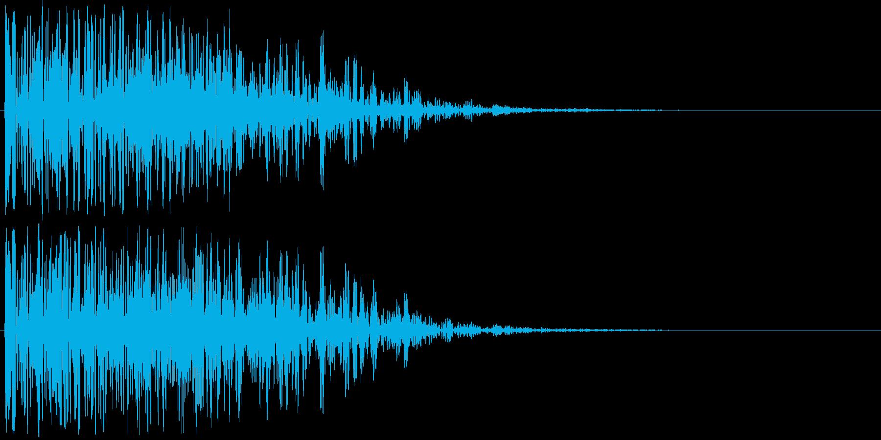 爆発音・大砲3の再生済みの波形