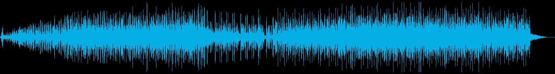 不思議な感じのテクノトラップの再生済みの波形